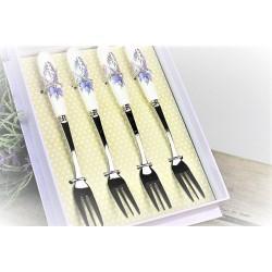 Levandulove vidličky  v ozdobnej krabici