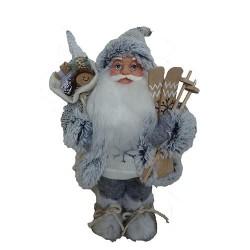 Santa stojaci 30cm šedý