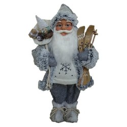 Santa stojaci 45cm šedý