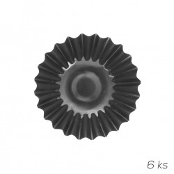 Forma kov košíček Torteletes 7cm