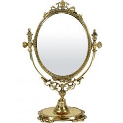 Zrkadlo zlaté 24cm