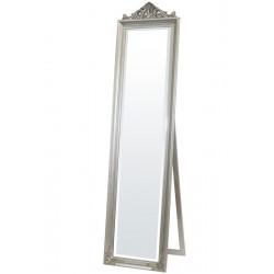 Zrkadlo strieborné 176cm